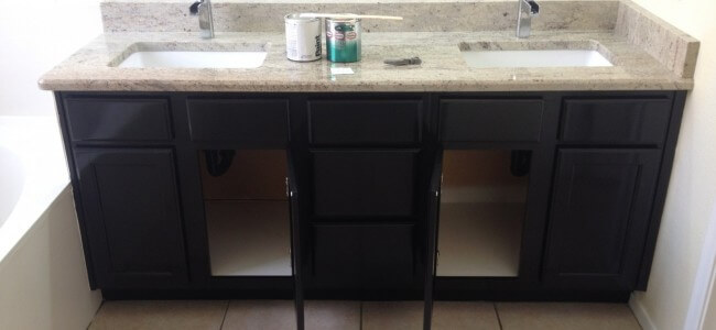 Bathroom Cabinets Paint and Refinish