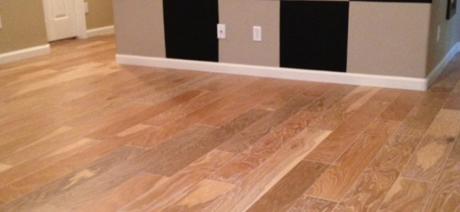 Engineered Floor and Hardwood Stairs Installation