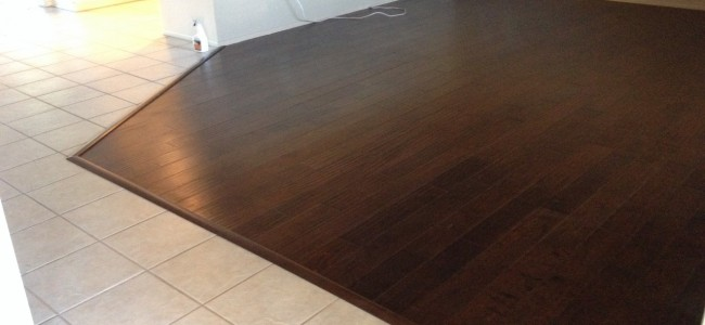 Engineered Wood Floor Glue Down Installation