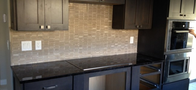 Granite Countertops and backsplash Installation
