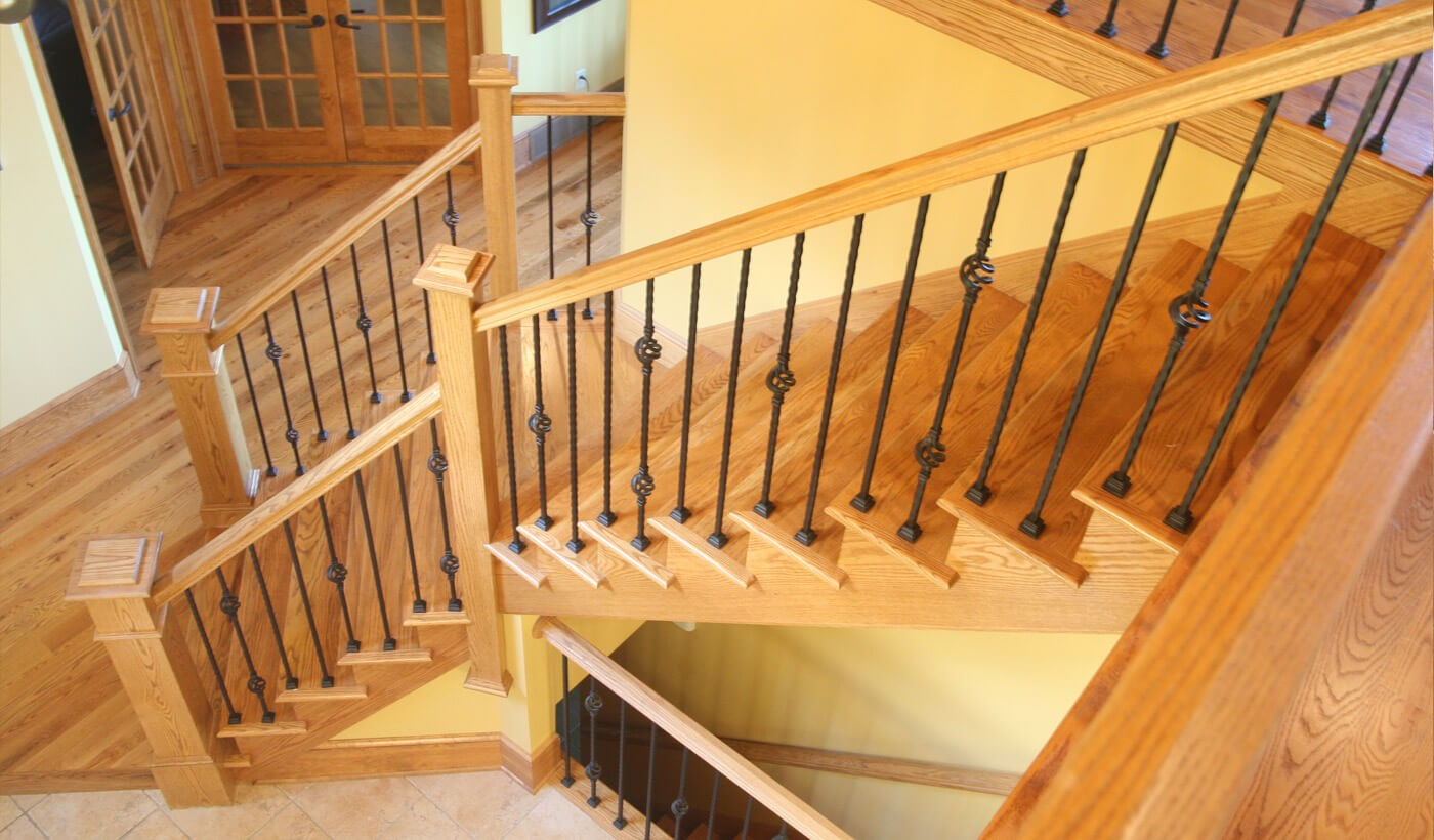 Stairs refinish