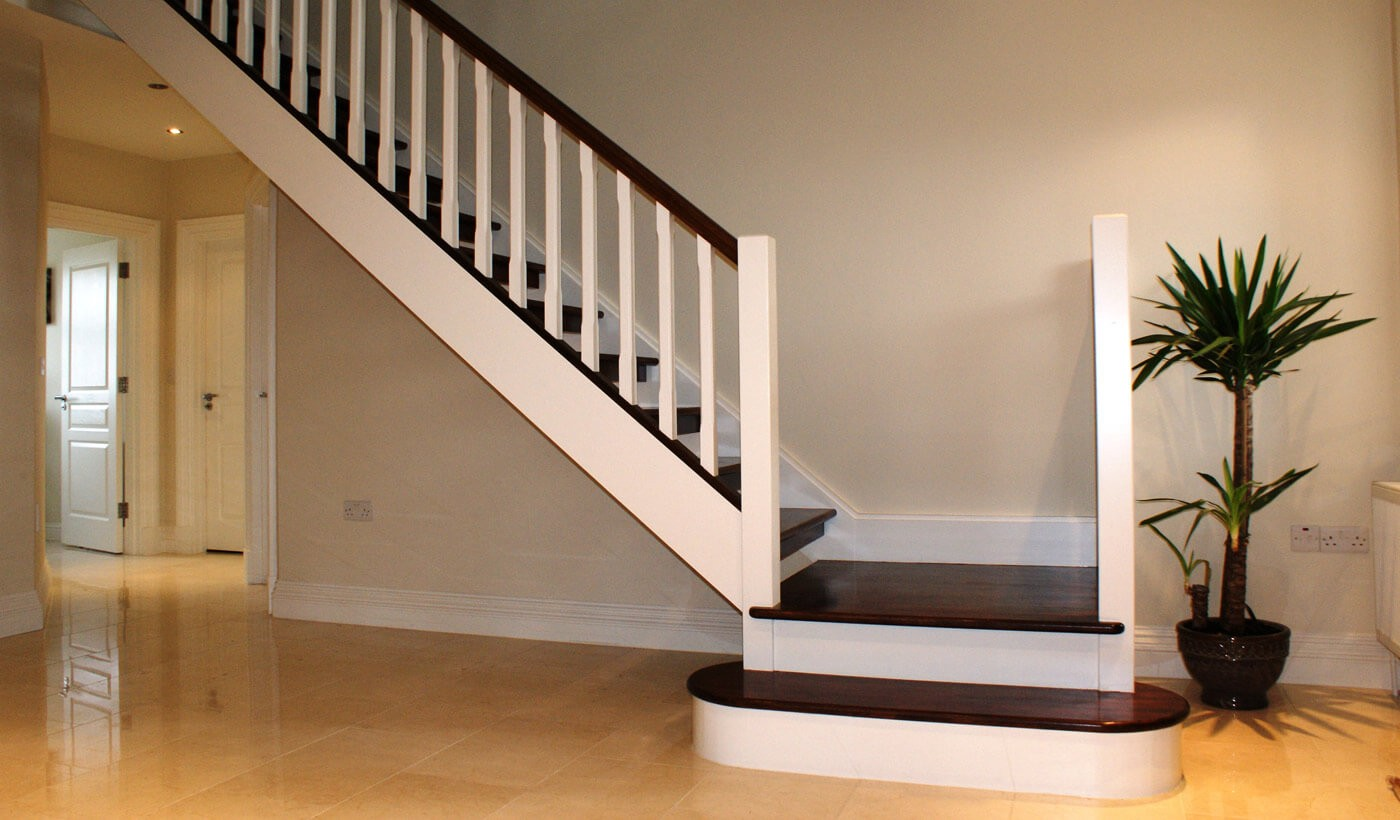Full stairs refinish